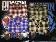 Dixxon Flannel Company Large L Sold Out Lot Of 4 Flannels