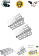 2-pack Stainless Steel Bbq Grill Heat Deflectors Replacement For Weber Gas Grill