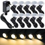 Outdoor Solar Led Deck Lights Garden Path Patio Pathway Stairs Step Lighting