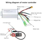 36v 350w Brushless Controller Dashboard Scooter Replace Suit For Xiaomi M365