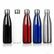 Stainless Steel Vacuum Insulated 25oz Double Wall Thermos Water Bottle 750 Ml