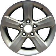 Oem Recon 17x8 Alloy Wheel Bright Sparkle Silver Full Face Painted 560-59430