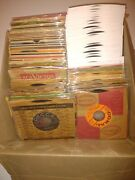 188 Wholesale 45 Rpm 7 Records - Blues Jazz Pop Oldies Singles And Ep's