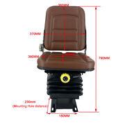 Universal Lawn Mower Tractor Seat Forklift Seat Tractor Seat With Suspension
