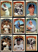1972 Topps Baseball Low Number Complete Set 5.5 - Ex+