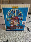 Lemax - The Giant Wheel Ferris Wheel - Train -carnival -village Sights And Sounds