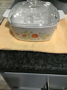 Corning Ware A-1 1/2 Quart Ny. Usa Andnbsp1180 Ma Lid Has Pyrex A 7 C On One Side And