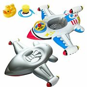 Airplane Yacht Baby Floats For Pool Kids Toddler Infant Baby Swimming Float L...