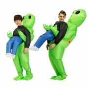 Alien Inflatable Halloween Costume For Kids Boys Girl Party Cosplay Funny Suit