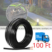 Landscape Lighting Cable Low Voltage Wire Outdoor Burial Light Copper Wiring