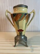 Antique 1928 Royal Rochester Fraunfelter Modernistic Coffee Urn. Rare