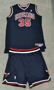 Lonny Baxter Chicago Bulls Signed + Game Used Nba Jersey And Shorts Maryland Terps