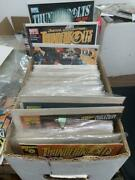 135 Different Thunderbolts Comic Book Collection Lot, Marvel Comics