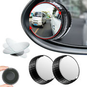 2x Blind Spot Mirror Car Motorcycle Motorbike Taxi 50mm Towing Rear View Mirror