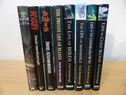 Signed David Attenborough Life On Earth Complete Set First Editions Bbc Collins