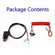 Outboard Motor Switch Parts Boat Emergency Flameout Kill Motor Boat Durable