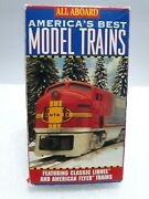 All Aboard-america's Best Model Trains Lionel And American Flyer 1994 Vhs