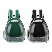 Pet Breathable Astronaut Space Capsule Backpack Carrier Puppy Cat Travel Bag