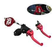Pair Clutch Lever Easy Pull Handlebar Hand Lever Clutch Cable System Motorcycle