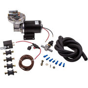 Brake Booster Electrical Vacuum Pump Kit For Brake Systems 18 To 22 12v