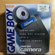 Nintendo Gameboy Blue Camera With Original Box Manual And Inserts Tested Working