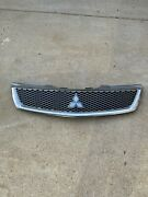 ✅09 10 11 12 Mitsubishi Galant Front Bumper Grill Silver And Chrome Oem