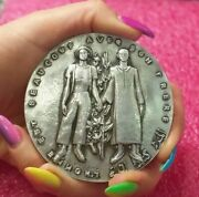 Fiftieth Anniversary Arab Bank Algeria And Tunisia Silver French Medal By Baudry