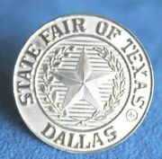 Vintage Great State Fair Of Texas Dallas Sterling Silver Bandana Holder Ring Wow