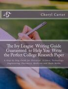 Ivy League Writing Guide Guaranteed To Help You Write The Perfect College R...