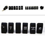 Carling Boat Rocker Switch Breaker   16 Piece With Ignition Set