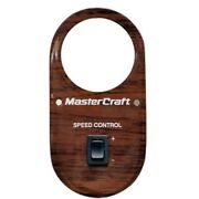 Mastercraft 509083 Staciewood Ps 190sd / 205sd Boat Speed Control Gauge Panel