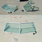 Carver Yachts Boat Glass Windshield Tb16906ws | 90 Inch Green 4 Pc