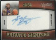 2009 Timeless Treasures Private Signings 1 Kobe Bryant Auto /100 Lakers