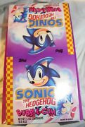 1993 Topps Candy Bubble Gum Sonic The Hedgehog Box 24 Figures Filled And Sealed