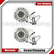 2 Skf Axle Bearing And Hub Assembly Front For Ford 2005-2010