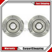 2 Skf Axle Bearing And Hub Assembly Rear For Chrysler Prowler