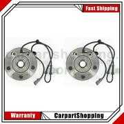 2 Skf Axle Bearing And Hub Assembly Front For Chrysler Pacifica
