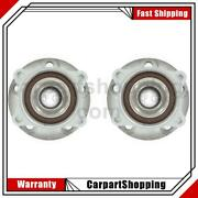 2 Skf Axle Bearing And Hub Assembly Front For Volvo S60