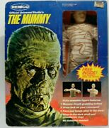 The Mummy Vintage 9 Clothed Figure Remco 1980 Universal Monsters Complete Mib