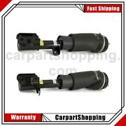 2 Arnott Industries Air Suspension Strut Front For Land Rover 2010-2012