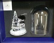 Bell Jar - Pine Tree And Stag, Christmas Crystal Authentic Mib 5403173