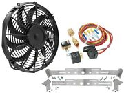 Champion Cooling Systems Tsfk14cblpk2 Turbo Series Puller Fan Kit Includes Cham