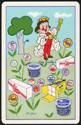 Vintage Playing Card Quality Dairy King And Products Pictured St Louis Missouri
