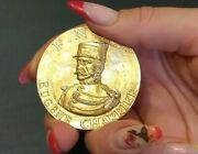 1907 Paris French Art Nouveau Colonial Police Silver Medal By Conrad 104,5 Gr