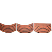 Chaparral Boat Tread Entry Step 52.00108 | 350 Signature Cherry Wood Set Of 3