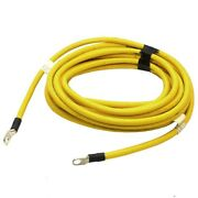 Boat Windlass Relay Cable | 29 Ft Ground 4 Awg Yellow