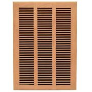 Marquis Boat Vent Grille Cover 9056911 | Louvered 18 X 12 Inch Hickory