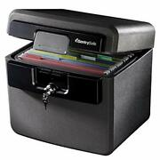 Sentrysafe Hd4100 Fireproof Safe And Waterproof Safe With Key Lock 0.65 Cubic