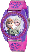 Disneyand039s Frozen Kidsand039 Digital Watch With Elsa And Anna On The Dial Purple Casin