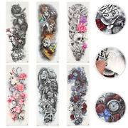 6pcs Party Arm Temporary Festival Waterproof Stickers Tattoos